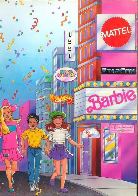 Mattel 1991 (France) incomplet