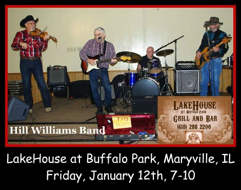 Hill Williams Band 1-12-18