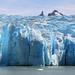 Grey glacier ...