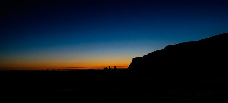Sunset in Vik