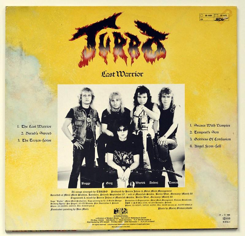 A0499 TURBO Last Warrior