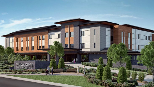 Architectural renderings: Willow Square