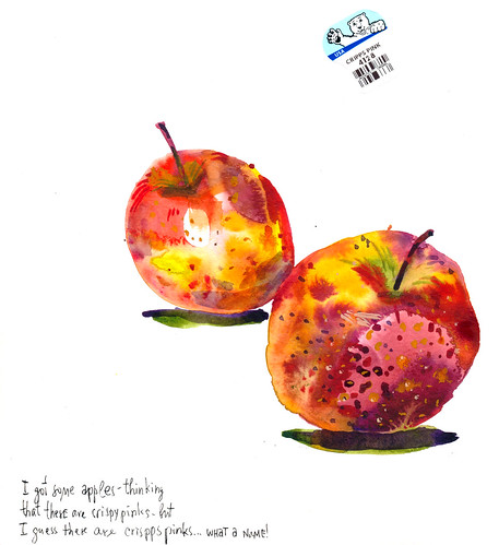 Sketchbook #111: Apples