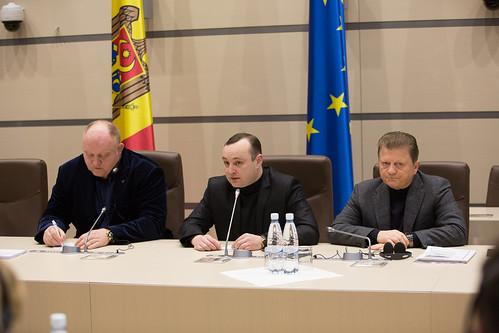 29.01.2018 Întrevedere deputați, fracțiunea parlamentară PSRM, cu delegația comună a Comisiei de la Veneția și OSCE/ODIHR