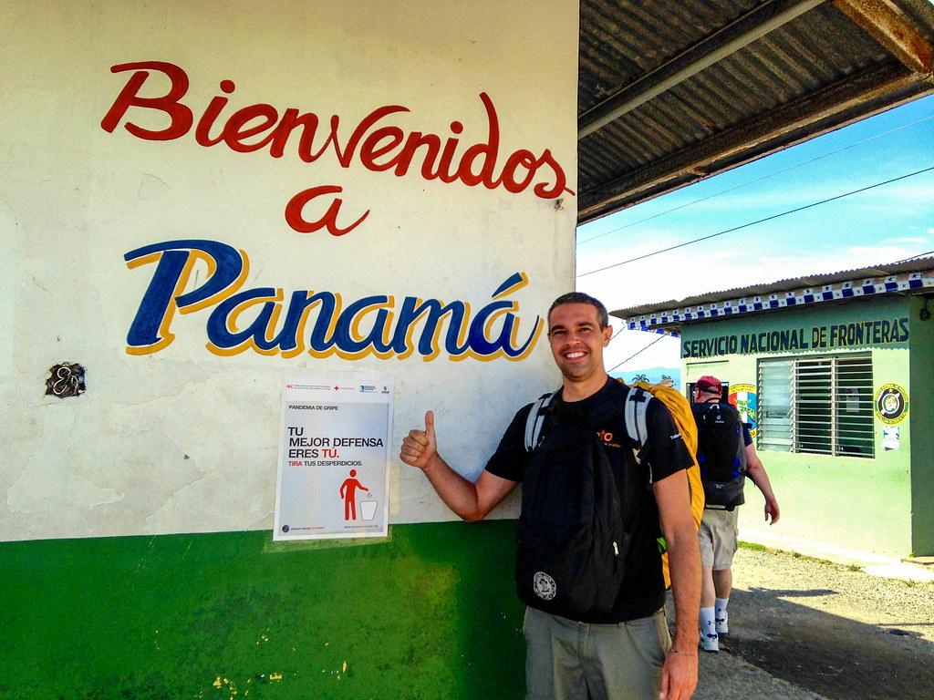 Llegada a Panama