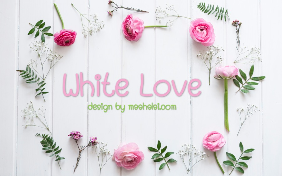 PowerPoint White Love