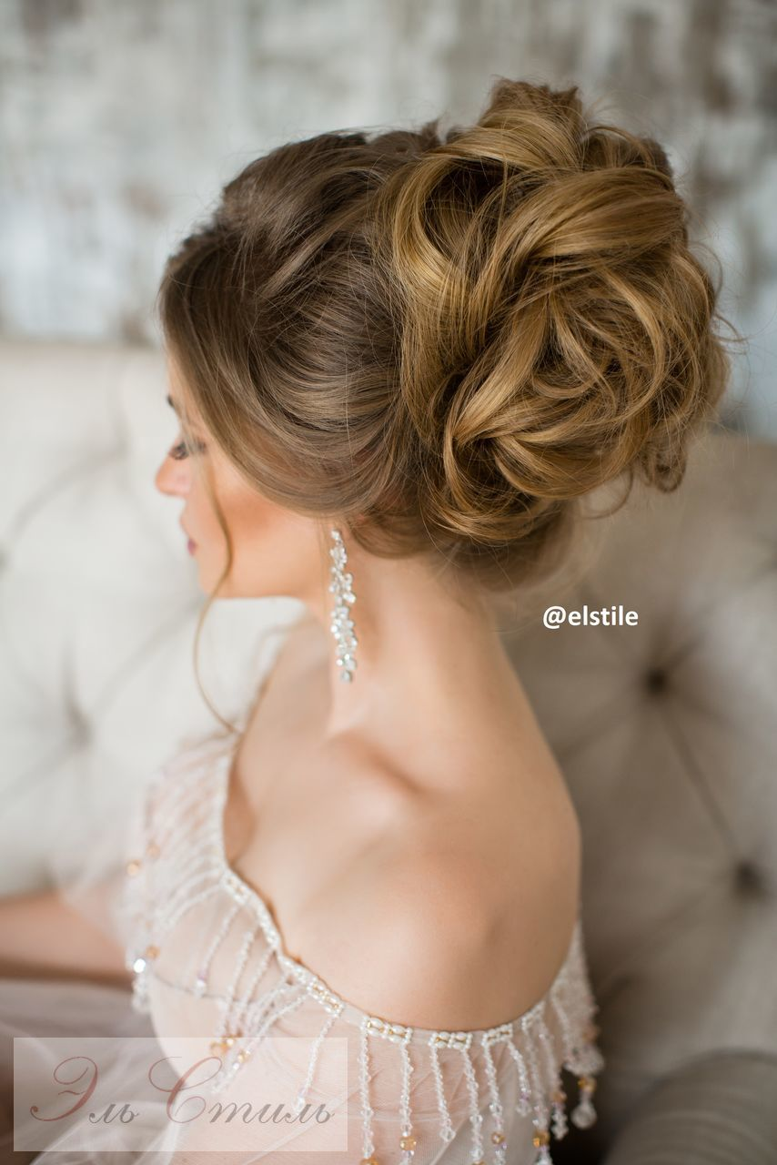 Excellent day Long Lenght facet Hairstyles for Bride Blonde Hair 2018