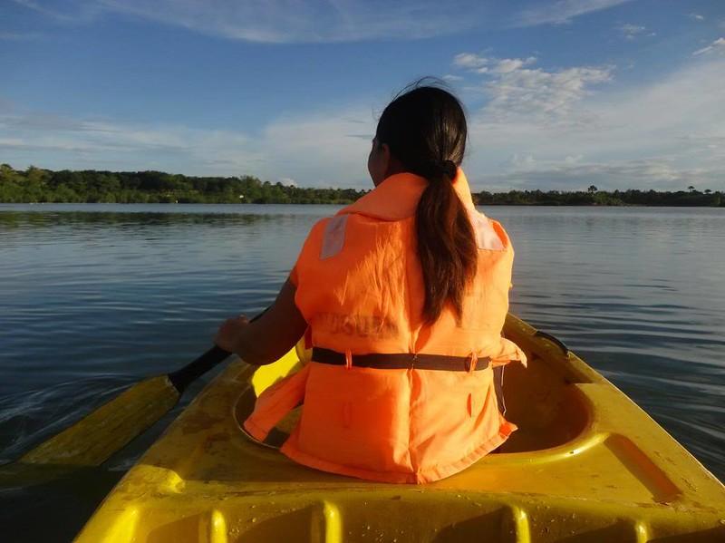 Papa Kit's canoe