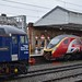57304 and 390151 at Crewe