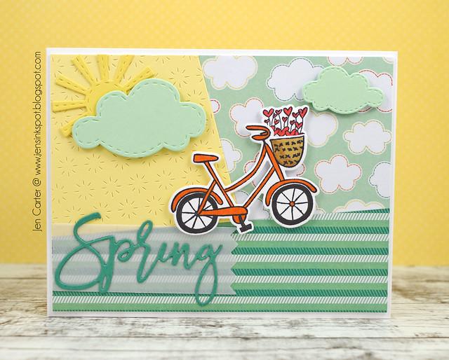 Jen Carter Spring Bike