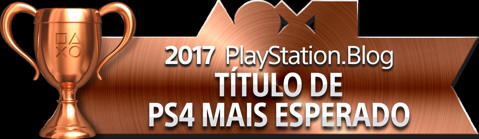 PlayStation Blog Game of the Year 2017 - Most Anticipated PS4 Title (Bronze)