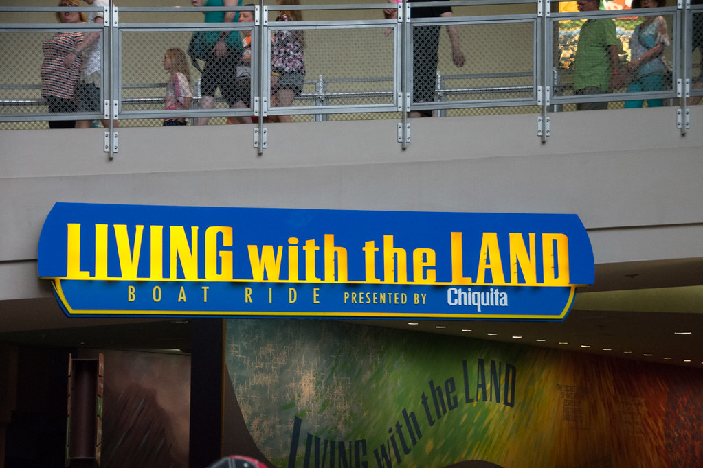 Sign for Living with the Land