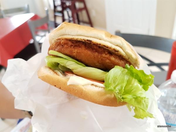 Hamburger Au Poulet