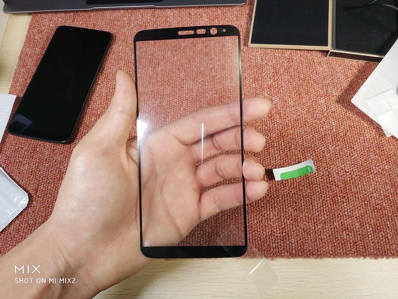 OnePlus 5T ケース 保護ガラス (1)