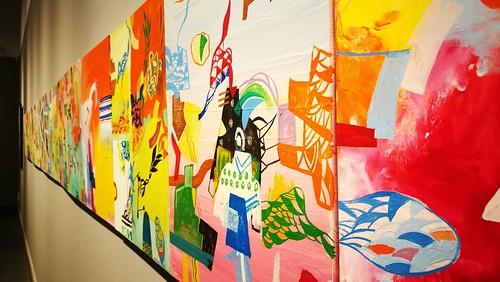 Inauguración exposiciones Fernando Parrilla y Colectivo Liberarte en La Almona