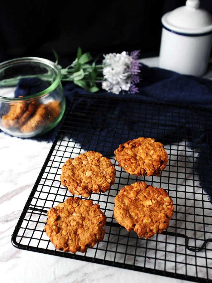 全素椰片花生燕麥餅乾 vegan-coconut-peanut-butter-oatmeal-cookies (1)