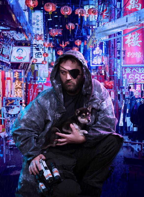 SALZ x Irwin Wong Puppy