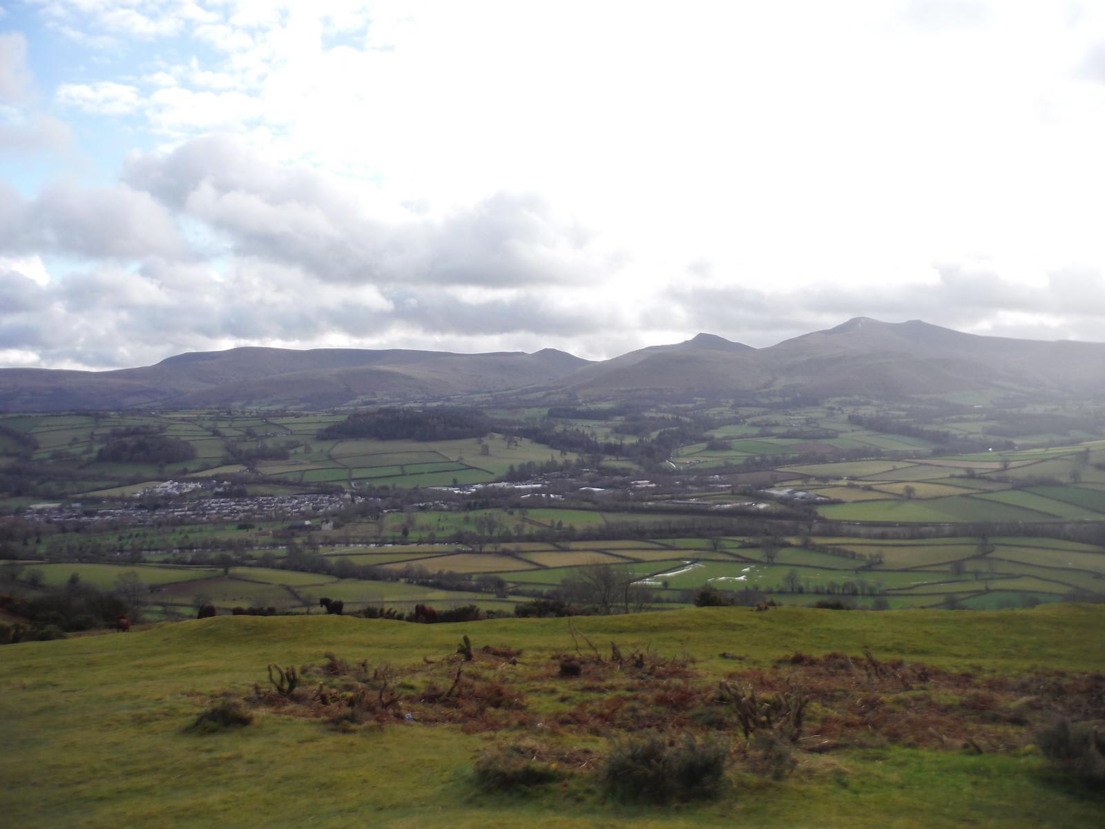 Waun Rydd to Corn Du, from Pen-y-crug SWC Walk 306 - Brecon Circular (via Y Gaer, Battle and Pen-y-crug)
