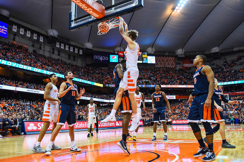 SU Men's Basketball Vs. Virginia