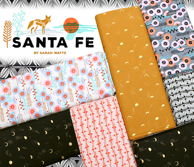 COTTON+STEEL Santa Fe Collection by Sarah Watts