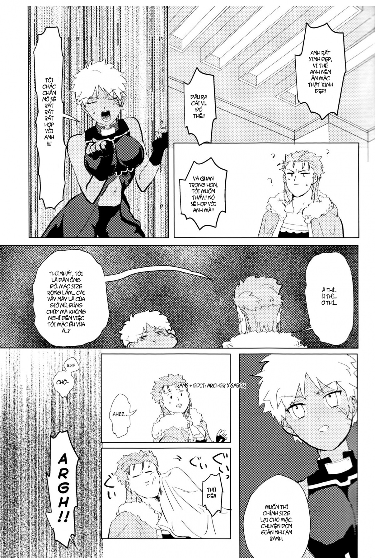 HentaiVN.net - Ảnh 10 - Seventh Heavens Story (Fate/Grand Order) - Oneshot