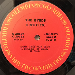 THE BYRDS:(UNTITLED)(LABEL SIDE-B)
