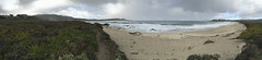 Stormy weather over Carmel Bay/panorama