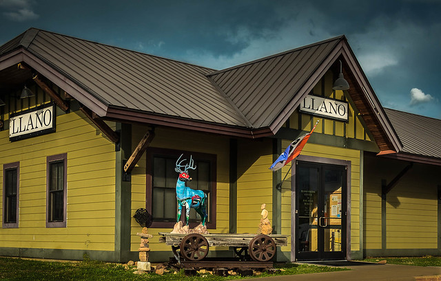 Old LLano Train Station