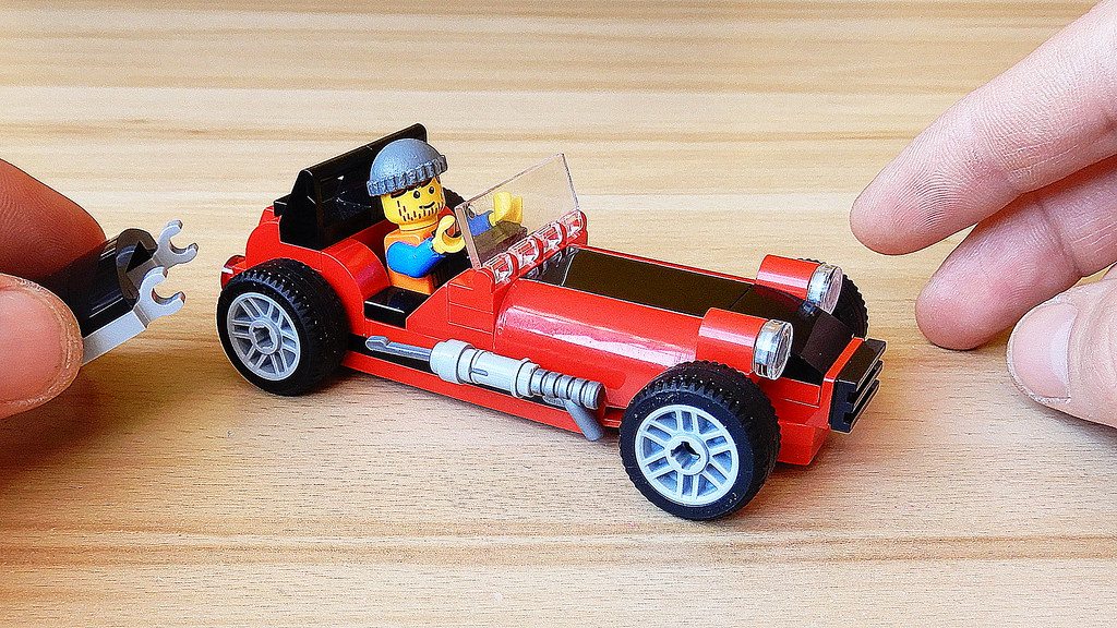 How to Build Lego Caterham Super Seven (MOC - 4K)