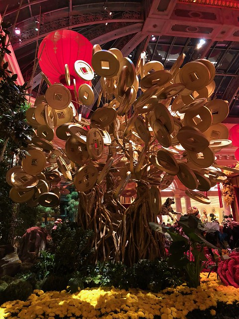 Las Vegas Bellagio - money tree
