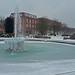 Parkway Fountain Frozen