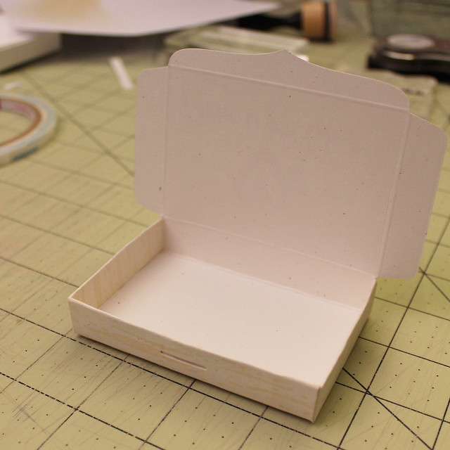 Gift Card Box Assembly Step 5
