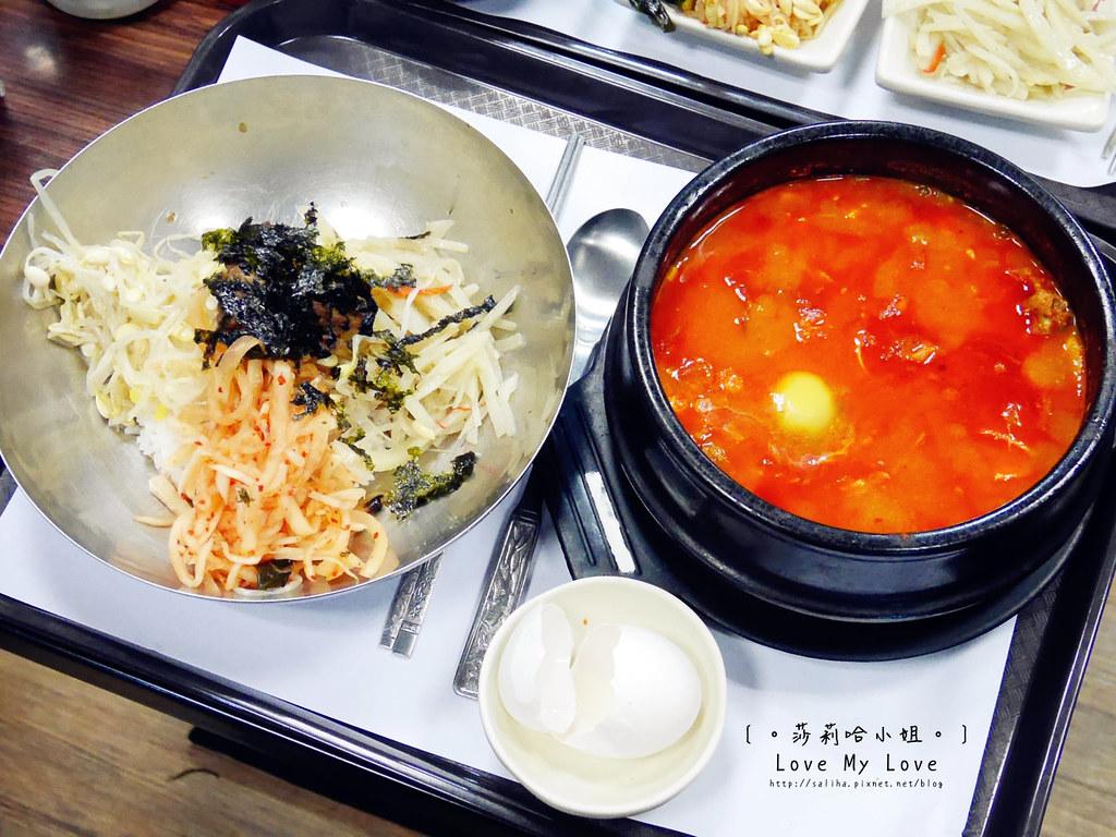 台北信義區莊敬路好吃韓國料理逢香豆腐鍋 (9)