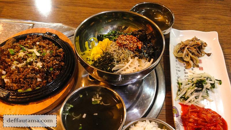 5 hari di Seoul - Bulgogi dan Myeolchi Bap