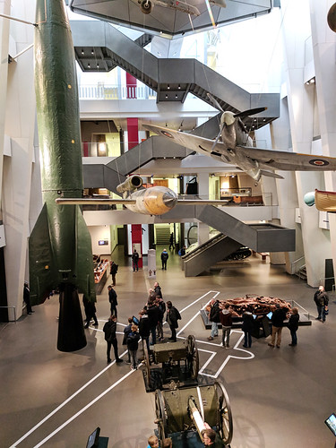 main hall @ Imperial War Museum