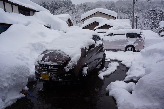 豪雪><; その2