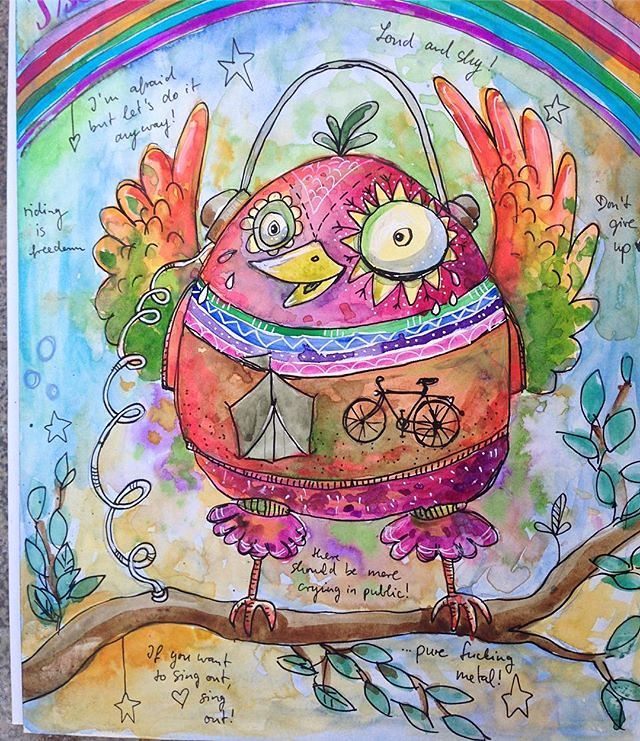 #lifebook2018 hat heute wieder #quirkybirds im Gepäck!