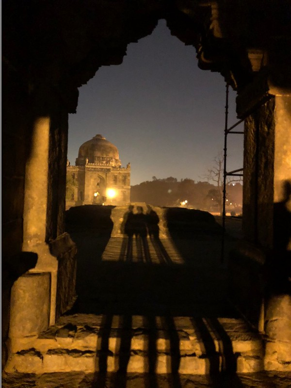 City Monument - Bara Gumbad's Evening Mysticism, Lodhi Garden