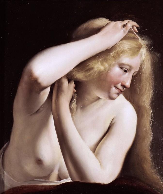Salomon de Bray - Jeune femme (1635)