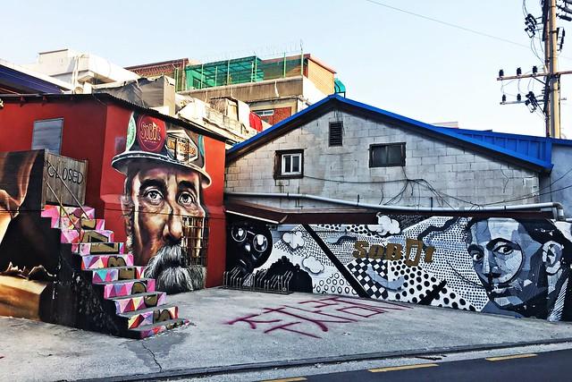 Seongsu-dong Graffiti Alley