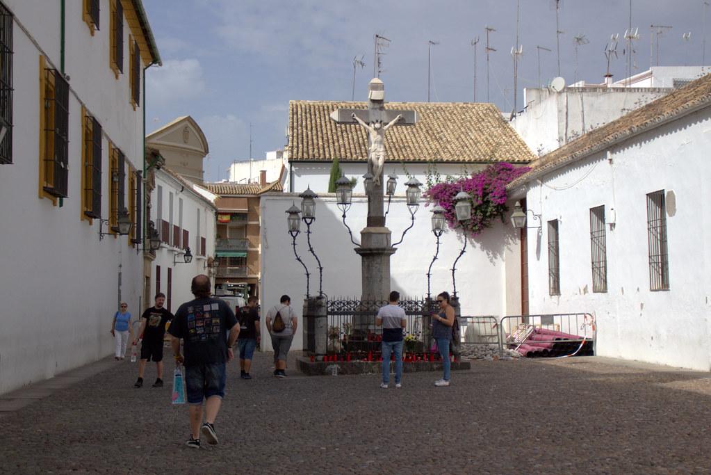 en la Plaza del Cristo de los Faroles, Córdoba