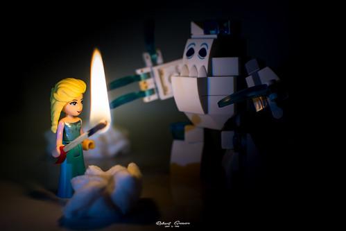 #Disney #Frozen - #Elsa und das #Schneemonster #MacroMondays #Flame