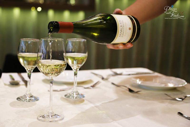 the cellar signature Marques de Casa Concha Chardonnay 2015