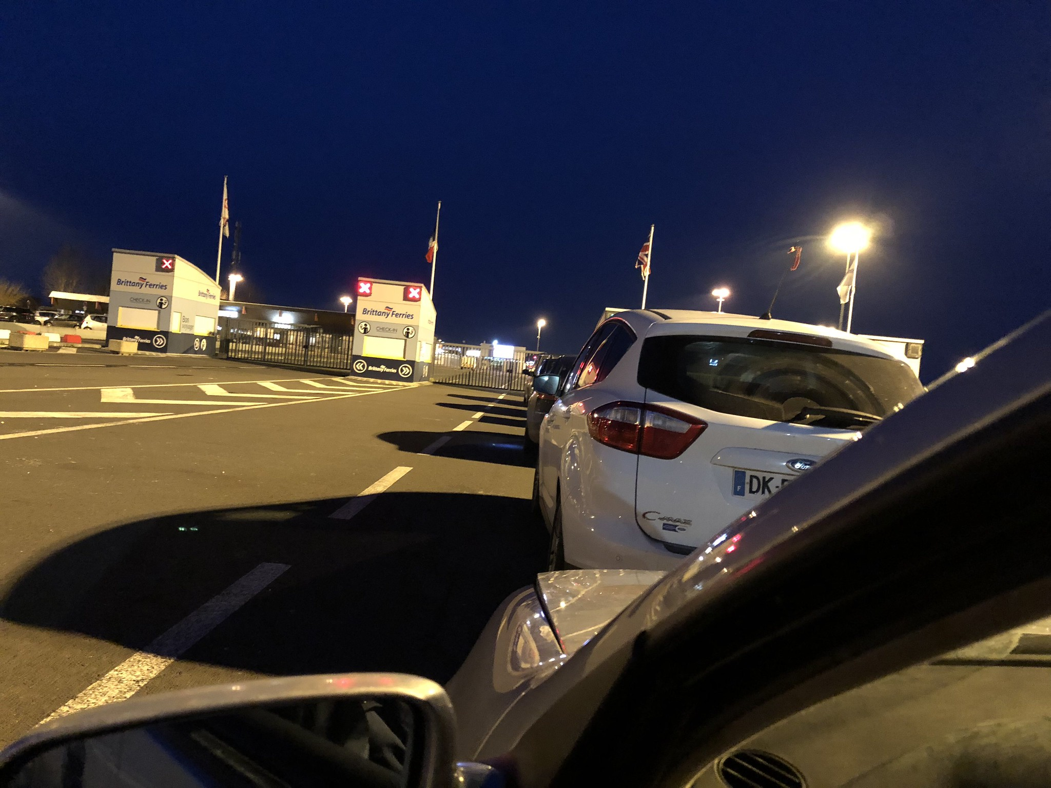 Waiting for the ferry...