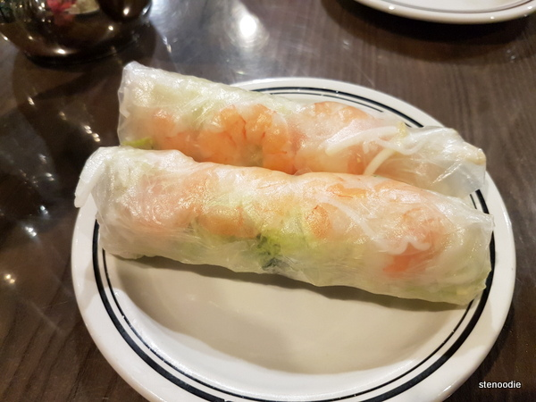 Fresh Shrimp Rice Wraps