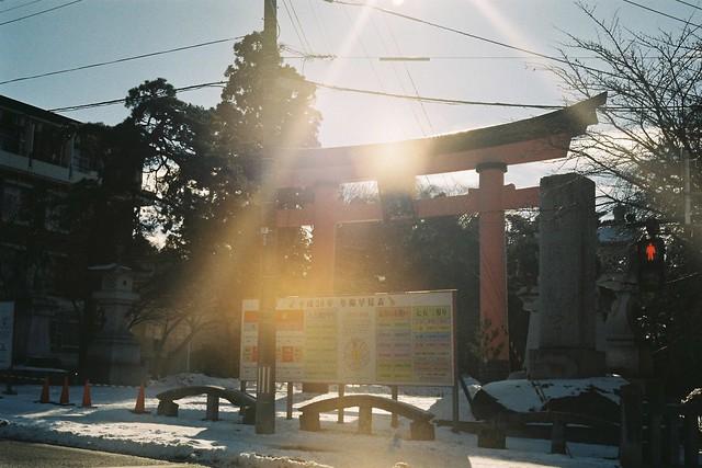 ひたすら列車旅4-3 盛岡の神社