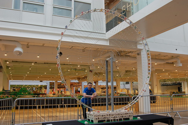 The World's Largest LEGO Ferris Wheel