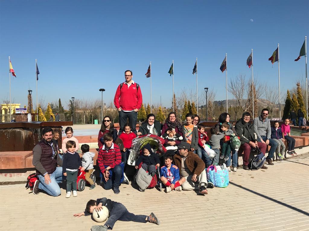 Excursión familiar organizada por el AMPA del colegio