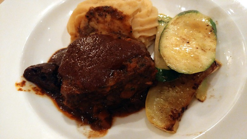 The Braised Beef Short Ribs that Katherine ordered
