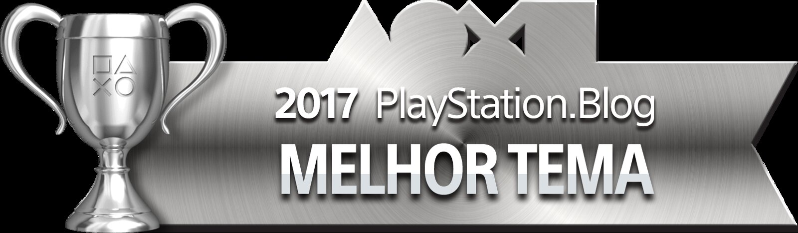 PlayStation Blog Game of the Year 2017 - Best PS4 Theme (Silver)